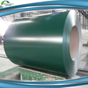 PPGI Color Coated Steel Coil, Ral9002 White Prepainted Galvanized Steel Coil Z275