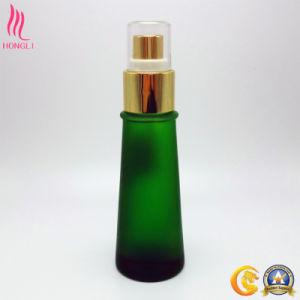 Non Spill Green Glass Spray Bottle pictures & photos
