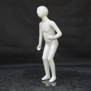 Shiny White Fiberglass Children Mannequin for Dress pictures & photos