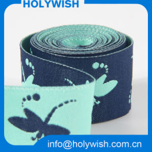 Wholesale Logo Jacquard Design Woven Ribbon for Craft pictures & photos