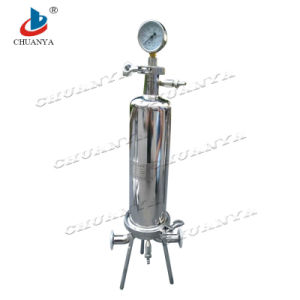 Stainless Steel Pressure High Flow Single Cartridge Filter Housing pictures & photos