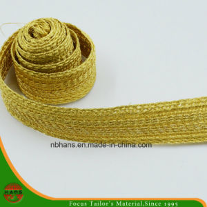 Golden Color Woven Tape-Hshd-06 pictures & photos