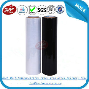 23 Micron Black LLDPE Stretch Film Manufacturer pictures & photos