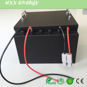 2000 Cycle LiFePO4 Battery Pack 24V 48V 50ah 60ah 80ah 100ah 150ah Deep Cycle for Solar System pictures & photos