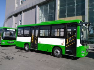 38-42seats New Color City Bus with High Quality pictures & photos