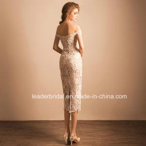 Wholesale Bridal Evening Gowns Lace Retail Short Wedding Dress Te21 pictures & photos