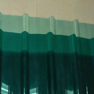 Lexan PC Corruagted Sheet Polycarbonate Waved Sheet pictures & photos
