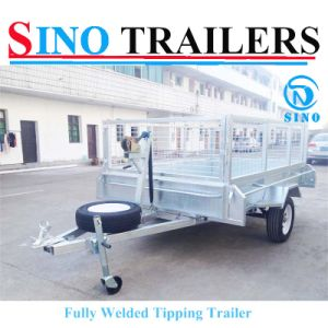 Hot Sale Fully Welded Tipping Trailers pictures & photos