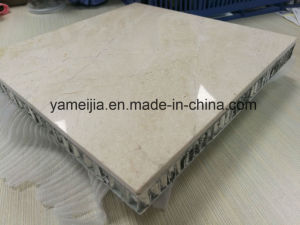 Marble Stone Cream Marfil Honeycomb Composite Panels pictures & photos