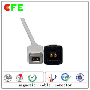 Custom Magnetic 4pin Cable Connector for Power pictures & photos