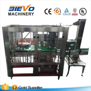Automatic Glass Bottle Tea Beverage Drink Liquid Bottling Plant pictures & photos