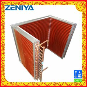 Copper Tube Copper Fin Condenser Coil for Air Conditioning Outdoor Unit pictures & photos