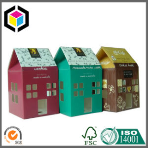 Gable Top House Cardboard Paper Packaging Candies Box