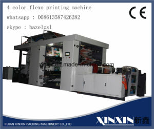 Hydraulic Loading and Unloading 4 Color Flexographic Printing Machine pictures & photos