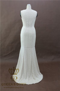 Luxury Long Evening Dress Heavy Beading Cheap Evening Gowns Prom Party Formal Dresses pictures & photos