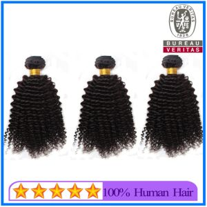 Wholesale Price Black Kinky Curl Weaving Hair for African American pictures & photos