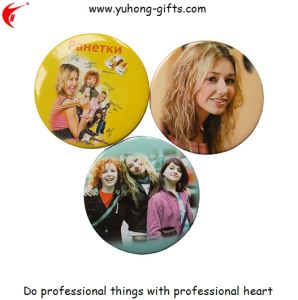 Custom Button Tin Badge for Promotion (YH-TB003) pictures & photos