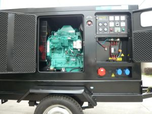Mobile 50kVA Cummins Sielnt Power Generators pictures & photos