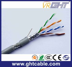 Indoor Cat5/ Cat5e FTP 24AWG Copper Conductor Network Cable pictures & photos