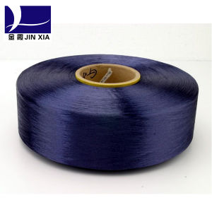 Polyester Filament Yarn Dope Dyed FDY 20d/12f Special Filament Yarn pictures & photos