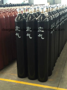 99.9992% High Pressure O2 Gas 50L 150bar Cylinder with Value pictures & photos