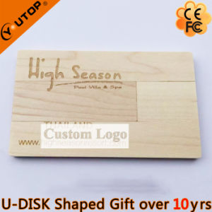 Swivel Wooden Card USB Flash Drive as furniture Gift (YT-3132) pictures & photos