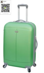 ABS Trolley Case Zipper Style Luggage pictures & photos