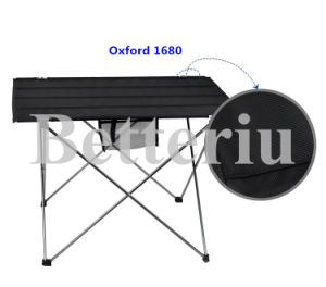 Roll up Picnic Table Packed in a Bag Beach Table for BBQ pictures & photos