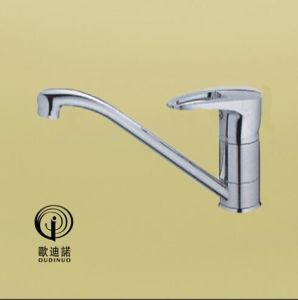 Oudinuo Single Handle Brass Bathtub Faucet 67713-1 pictures & photos