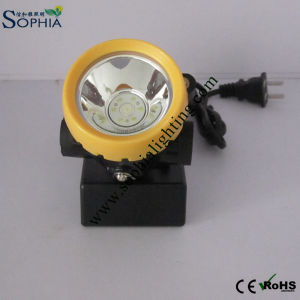 Explosion Proof Miners Safety Cap Lamp 2200mAh Two Brightness, Price USD12.8