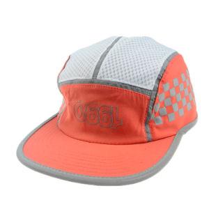 Orange 5 Panel Camper Cap Summer Supreme Hat pictures & photos