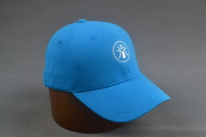 Light Blue Pique Baseball Cap with Embroidery pictures & photos
