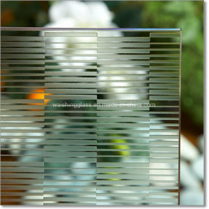 Frosted Glass Acid-Etched Decorative Art Glass for Door Panels pictures & photos