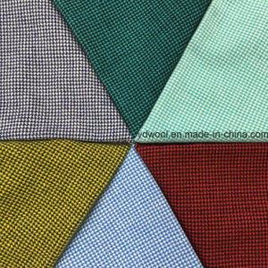 Little Houndstooth Wool Fabric Overcoat pictures & photos