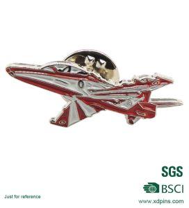 Custom Metal Soft Enamel Ariplane Lapel Pins (XDB-07) pictures & photos