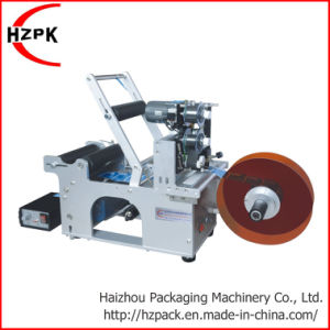 Round Pet Plastic Bottle Labeling Machine with Coding/ Labeller pictures & photos
