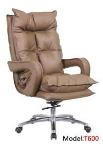 Office Luxury Ergonomic Hotel Executive Wooden Leather Boss Chair (RFT-6207) pictures & photos