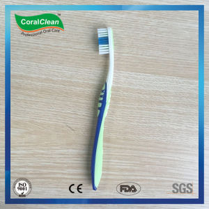 Fresh up DuPont Nylon Bristle Toothbrush with Tongue Scraper Combined pictures & photos