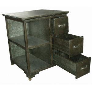 Antique Tin Furniture Cabinet Living Room Cabinet Metal Furniture pictures & photos