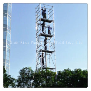 Galvanized Steel Ladder Frame Scaffolding for Building pictures & photos