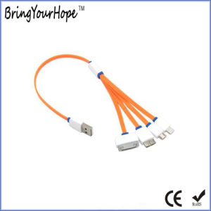 4 in 1 Flat USB Cable pictures & photos