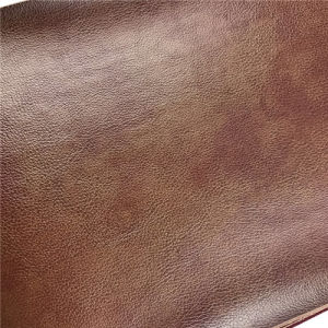 Durable Soft Bovine Fiber Leather for Furniture Automobile Carseat Cover pictures & photos