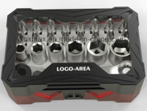 24 PC Screwdriver Bit Set with Colour Ring / Tool Kit (FST-015) pictures & photos