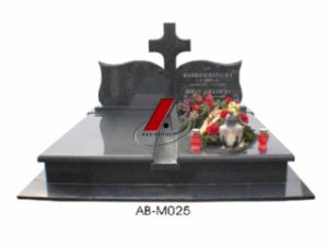 European Style Granite Double Monument&Tombstone with Book (G603, Shanxi Black) pictures & photos