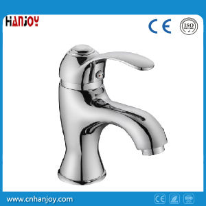 Sanitary Ware Single Handle Brass Basin bath Faucet(H09-101) pictures & photos
