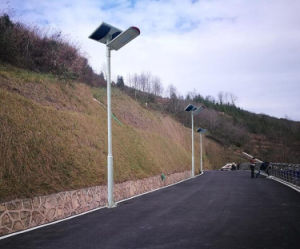Smart Bluetooth 40W Integrated Solar LED Road Garden Street Light pictures & photos
