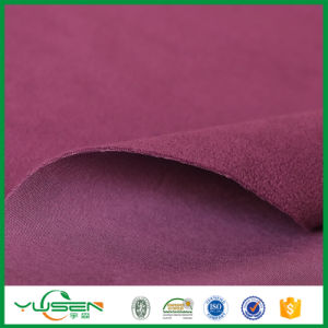 Knit Fabric Bonded with Polar Fleece Laminated Fabric for Sofa/Upholstery pictures & photos