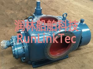 Stainless Screw Pump/Double Screw Pump/Twin Screw Pump/Fuel Oil Pump/2lb4-150-J/150m3/H pictures & photos