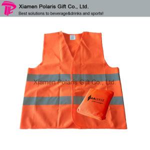 Portable Self Pocket Design Hi-VI Reflective Safety Vest pictures & photos