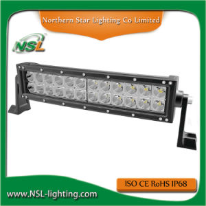 12 Inch 72W LED Driving Light Bar Offroad Wrangler Jk 4WD SUV Jimny Bar LED off Road Driving Light Bar pictures & photos
